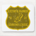 Electrical Engineer Drinking League Mouse Mat