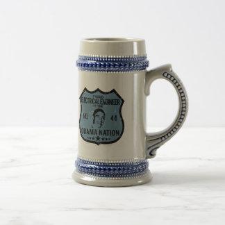 Electrical Engineer Obama Nation Coffee Mugs
