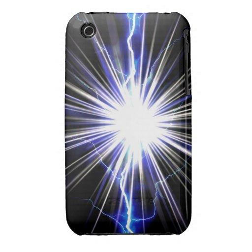 Electrical Lightning Star Burst iPhone 3 Cases