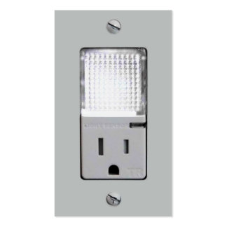 Electrical Outlet with Night Light Pack Of Standard Business Cards