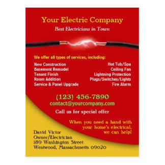 Electrical Postcard