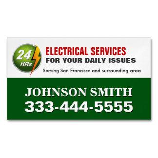 Electrical Power Service Electrician Fridge Magnet