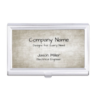 Electrical Schematics Business Card Holder