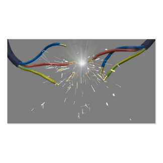 electrical spark pack of standard business cards