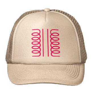 Electrical Transformer Symbol Trucker Hats