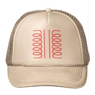 Electrical Transformer Symbol Mesh Hats