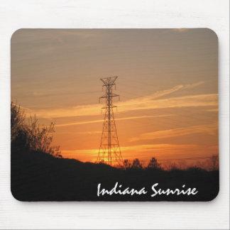 electricalsunrise, Indiana Sunrise Mouse Mat