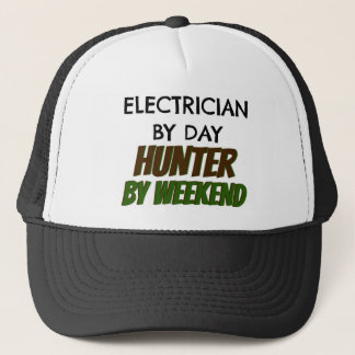 Electrician by Day Hunter by Weekend Trucker Hat