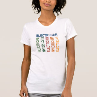 Electrician Cute Colorful T-Shirt