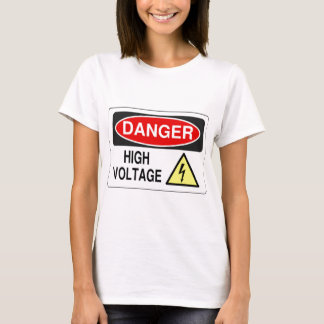 Electrician Danger High Voltage T-Shirt
