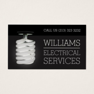 Electrician Electrical Services Light Bulb