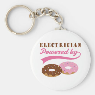 Electrician Gift (Donuts) Keychains