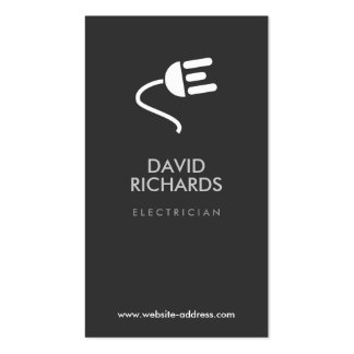 ELECTRICIAN LOGO MODERN BUSINESS CARD III
