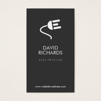 ELECTRICIAN LOGO MODERN BUSINESS CARD III