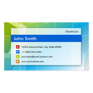 Electrician - Modern Multipurpose Business Card