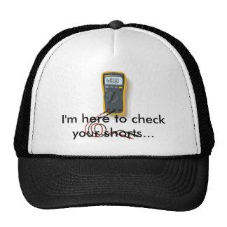 Electrician Multimeter-Hat Cap