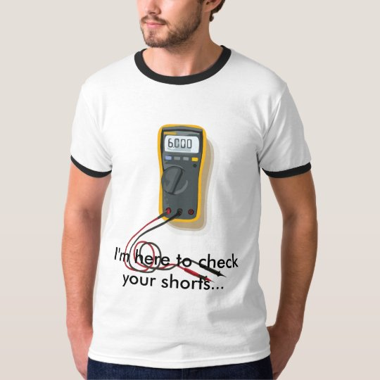 Electrician Multimeter T-Shirt
