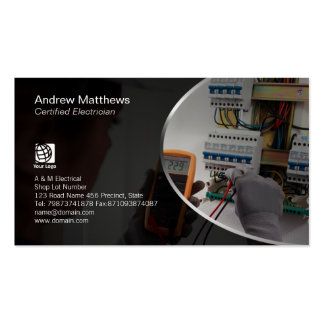 Electrician Test Electrical Circuits Pack Of Standard Business Cards