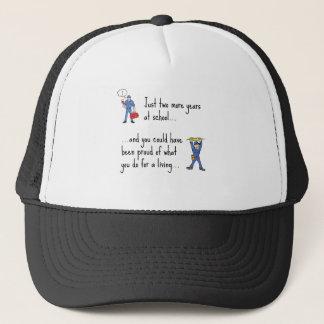 Electrician to Plumber apparels Trucker Hat
