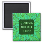 electricians hertz joke square magnet