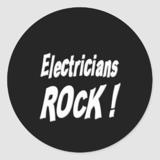 Electricians Rock! Sticker
