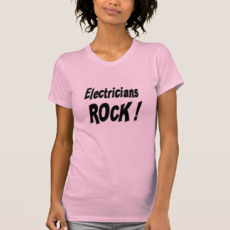 Electricians Rock! T-shirt