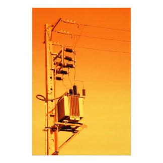Electricity distribution equipment photo art