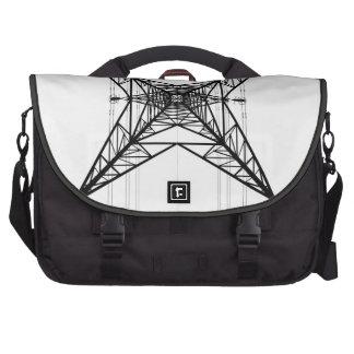 Electricity Pylon Messenger Bag Laptop Bag