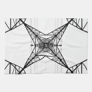 Electricity Pylons American Mojo Kitchen Towels