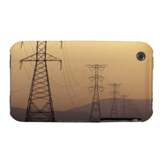 Electricity pylons iPhone 3 cover