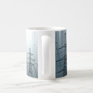 Electricity Pylons Coffee Mug