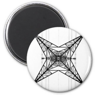 Electricity Pylons Magnet