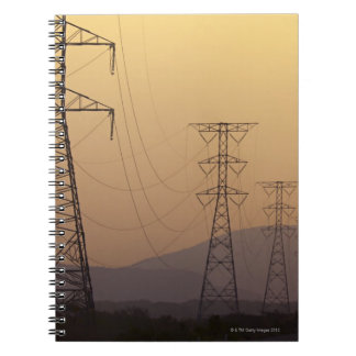 Electricity pylons notebook