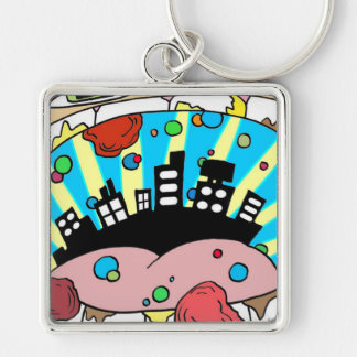 Electricityscape - CityMouth Key Chains