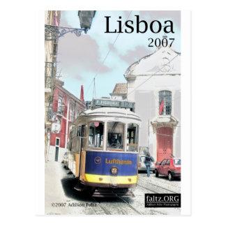 Eléctrico, Lisboa Postcard