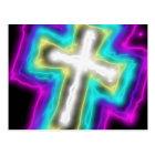 Electrified Cross. Postcard