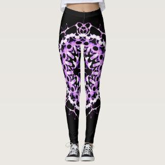 Electrifying Purple Leggings
