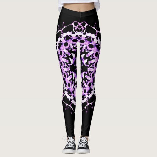 Electrifying Purple Leggings