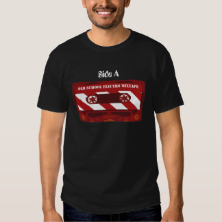 Electro Mix Tape with Side A  & Side B Shirts