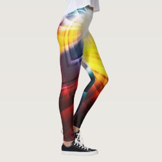electro pinwheel leggings