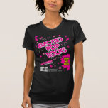 Electro Pop Rocks Candy Pink T-Shirt