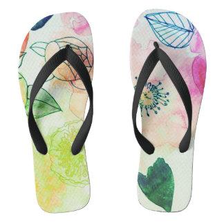 electro spring unisex flip flops