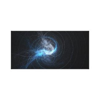 'Electro Streaks' Canvas Print
