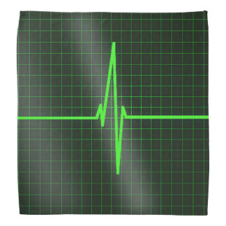 Electrocardiogram Waves Bandana Kerchief