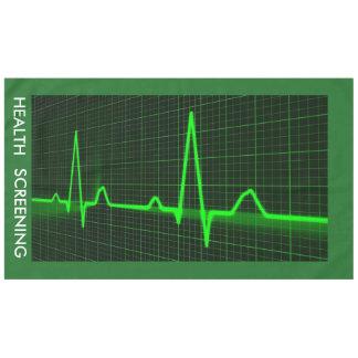 Electrocardiogram Waves Tablecloth