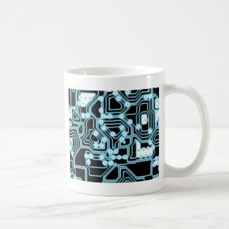 ElecTRON - Blue / Black Coffee Mug