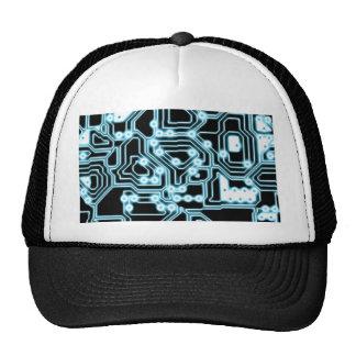 ElecTRON - Blue Black Trucker Hats