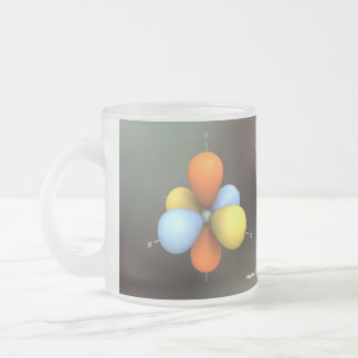 Electron p-Orbitals Mug