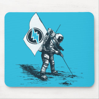 Electroneum Moon Flag Mouse Mat