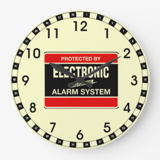 Electronic Alarm System Clock